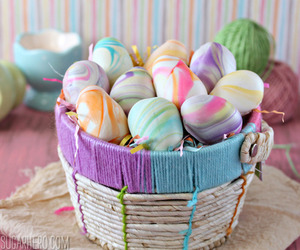 colors, easter, and pastel image