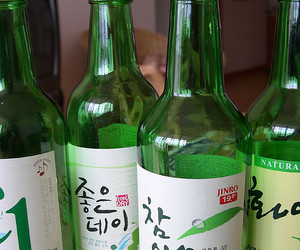 alcohol, apartment, and bottles image