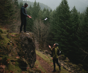 couple, nature, and indie image