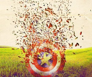 captain america, shield, and the avengers image