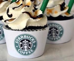 starbucks, cupcake, and chocolate image