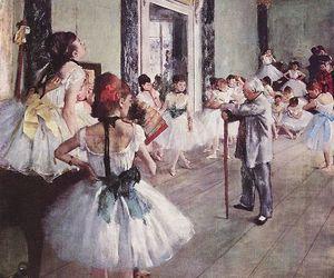 ballet, art, and degas image