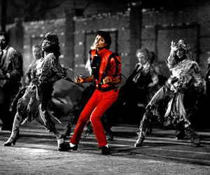 michael jackson, thriller, and dance image