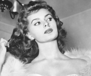 fashion, sophia loren, and vintage image