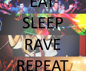 rave, eat, and repeat image