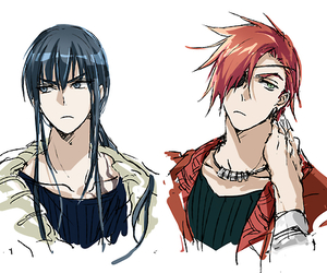 anime, d.gray-man, and exorcist image