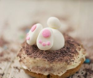 cake, rabbit, and cute image