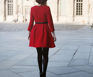 dress, fashionable, and fashion image
