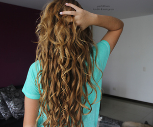 hair, tumblr, and style image