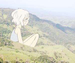 hills and anime image