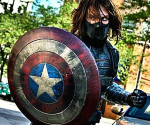 captain america, winter soldier, and Marvel image