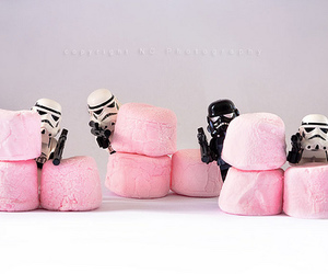 star wars, pink, and lego image