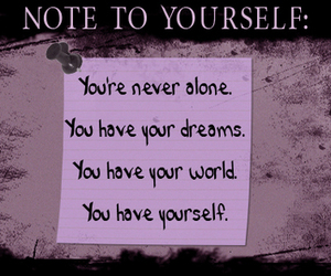 text and note to yourself image