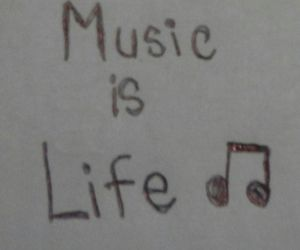 life, music, and yes image