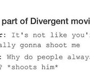 peter, divergent, and tris image