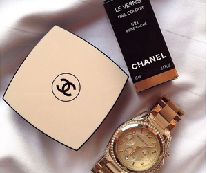 chanel, watch, and luxury image