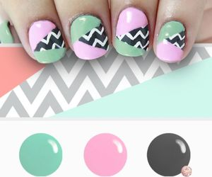 nails, polish nails, and colors nails image