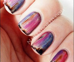 nails and polish nails image