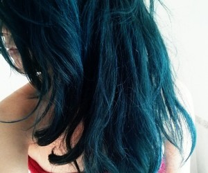 alternative, colored hair, and cute hair image