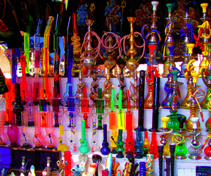 hookah, smoke, and shisha image
