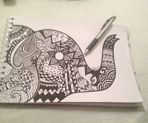 zentangle and love image