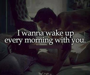 love, morning, and couple image