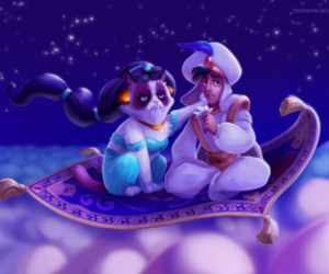 disney, grumpy cat, and aladdin image