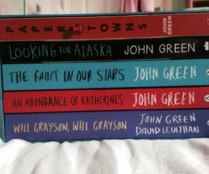 john green, books, and the fault in our stars image