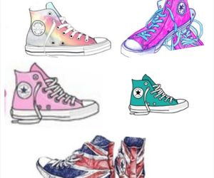 Collage, converse, and likes image