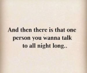 love, night, and talk image