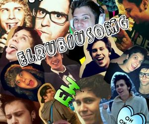 Collage, me, and rubius image