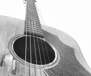 black and white, music, and cool image