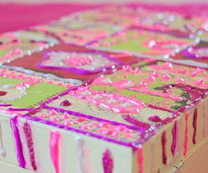 wooden boxes, cake box, and painted boxes image