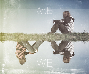 love, me, and we image