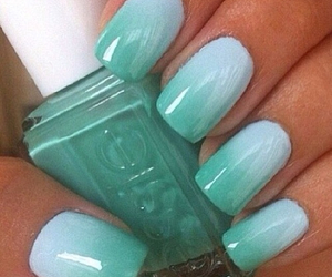 blue, green, and nails image