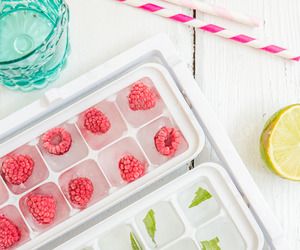 ice, food, and fruit image