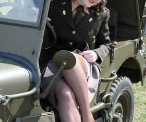 army and Pin Up image