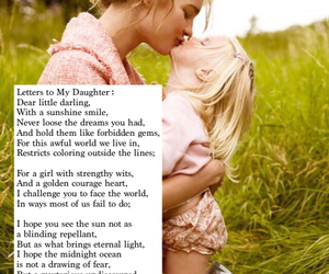 daughter, future, and poem image