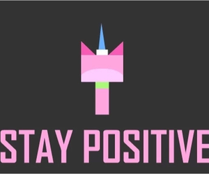 wallpaper, stay positive, and lego movie image