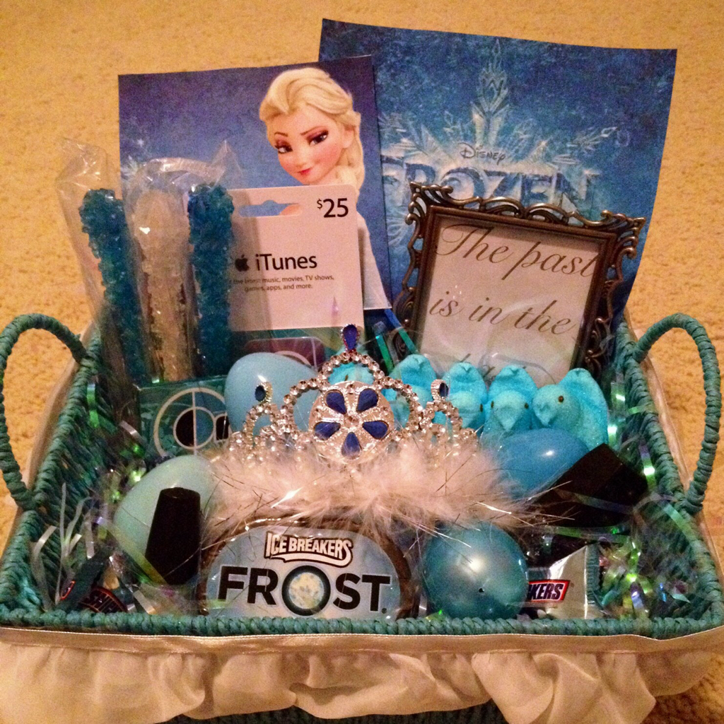 Frozen themed easter basket discovered by jackie negle Images