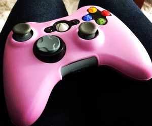 bored, pink, and xbox image
