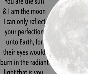 love poem, moon, and poem image