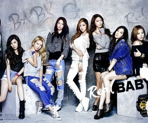 snsd and babyg image