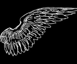 overlay, angel, and edit image
