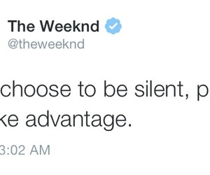 true and the weeknd image