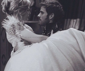 once upon a time, captain swan, and emma swan image