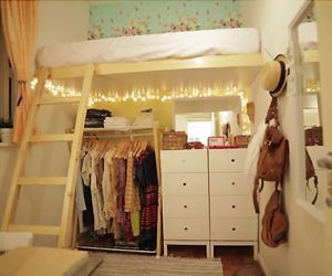 bedroom, decor, and cute image