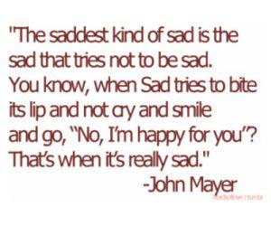 sad, quote, and john mayer image