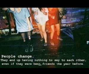 change and friends image