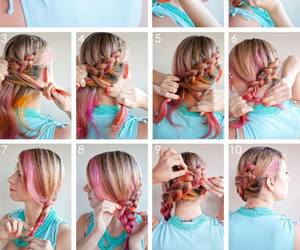 colors, diy, and girl image